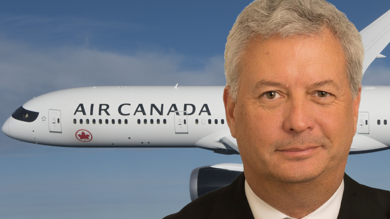 Michael Rousseau, President and Chief Executive Officer of Air Canada