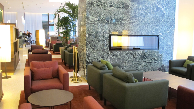 Lobby, Mövenpick Hotel, Basel, Switzerland