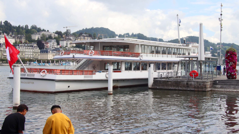 Cruise on Lake Lucerne on board the MS Waldstätter - lunch included