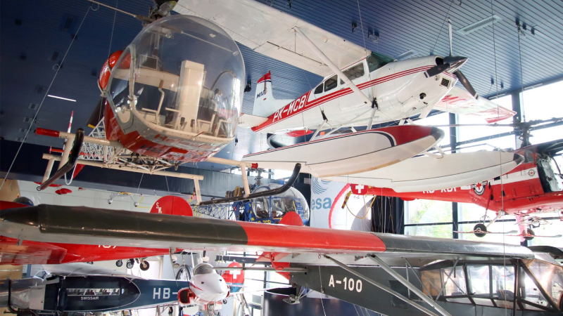 Museum of Transport in Lucerne, Aircraft section