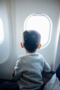 child passenger plane