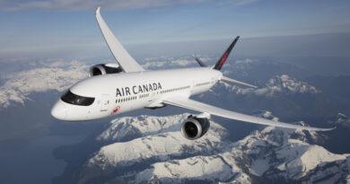 Air Canada's Boeing 787-9 Dreamliner