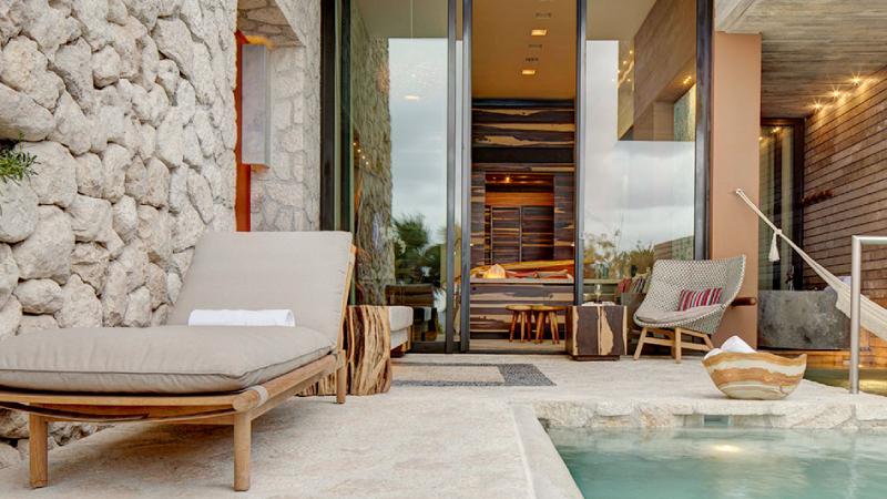 La Casa de la Playa's Wellness Suite